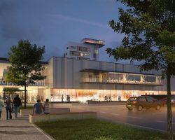 Shopping Mall Neografia – DF CREATIVE GROUP – Architekti Zuzana Zacharová a Martin Paško