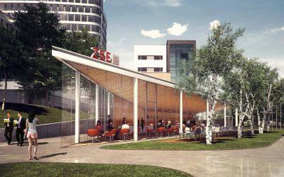 City HUB ZSE – DF CREATIVE GROUP – Architekti Zuzana Zacharová a Martin Paško